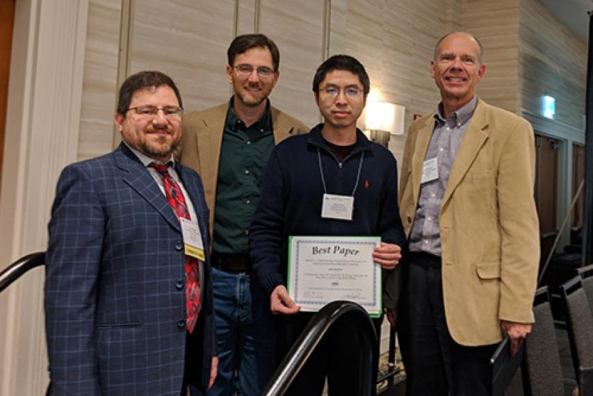Best paper award winners